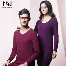 Innersy 2016 Underwear MenThermal Underwear Long Johns Autumn Cloth Men's Thermal Underwear Men Long Johns Winter Lovers Suit(China (Mainland))