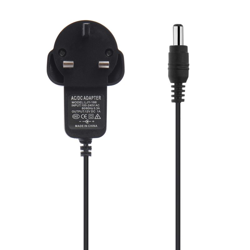 ( 50 pcs/lot ) AC 100-240V Converter Adapter DC12V 1A Wall Power Supply UK Plug For LED Strip Light LCD Monitor CCTV<br><br>Aliexpress