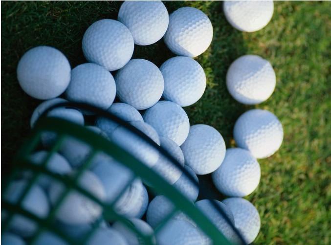 Wholesale Golf Balls Driving Range Golf Balls Golf practice balls 300pcs/lot Free shipping(China (Mainland))