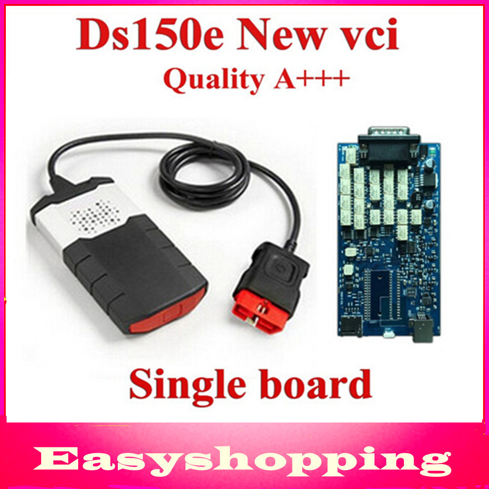 Single board A+++ Quality 2014 R2 version! DS150E CDP TCS PRO CAR+TRUCK TCS cdp Pro Plus no Bluetooth with DHL Free ship !!!(China (Mainland))