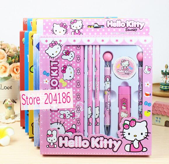 15 Cartoon Hello Kitty Car Spiderman Mickey Princess Dora Thomas Spongbob Bear Mental Pencil Box Stationery Student Papelaria(China (Mainland))