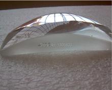 Accesorios de proyector DIY proyector lente orgánica cuadrado lente condensadora 75 * 55 mm
