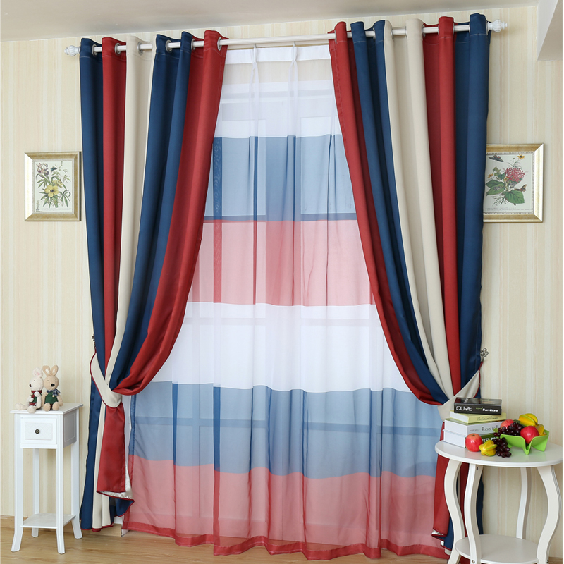 Buy 2015 new mediterranean curtains for - Latest curtain design for living room ...