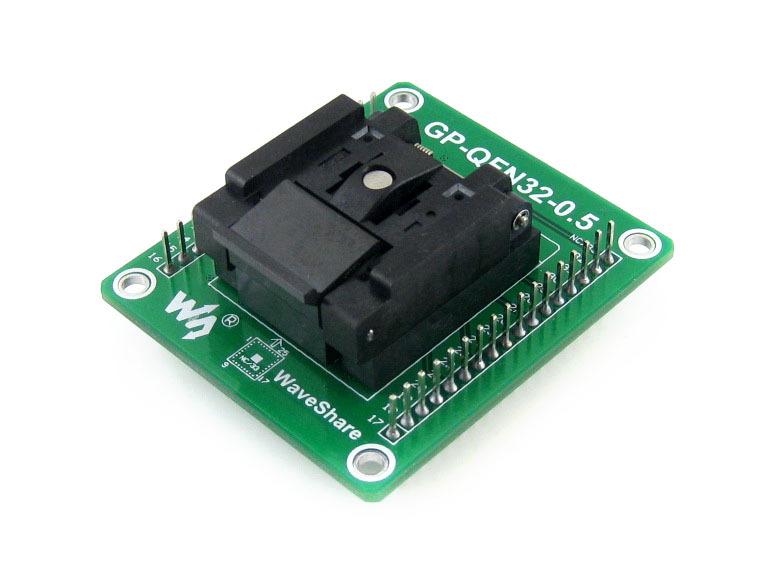 GP-QFN32-0.5-A = QFN32 MLF32 Adapter Enplas IC Test Socket Programming Adapter 0.5mm Pitch, QFN-32(40)B-0.5-02<br><br>Aliexpress