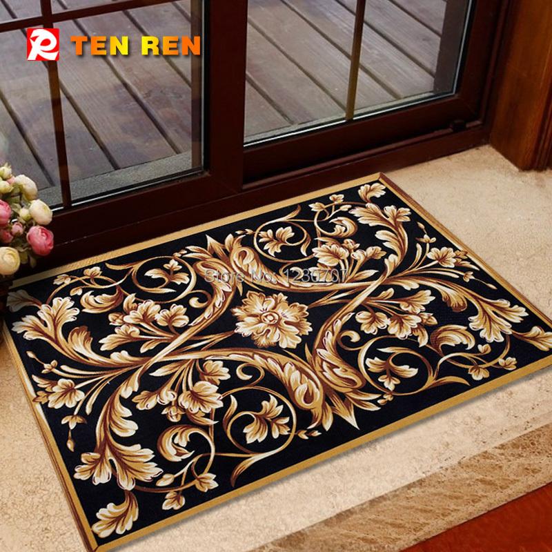 Delicate Anti Slip Floor Mat Door Charpet Rug Kitchen Mats Bedroom Pad Hot Selling natural rubber - TEN REN Rubber Products Factory store
