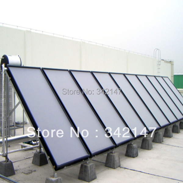 Best quallity and low price flat panel solar collectors with SRCC Solar Keymark CE CCC(China (Mainland))