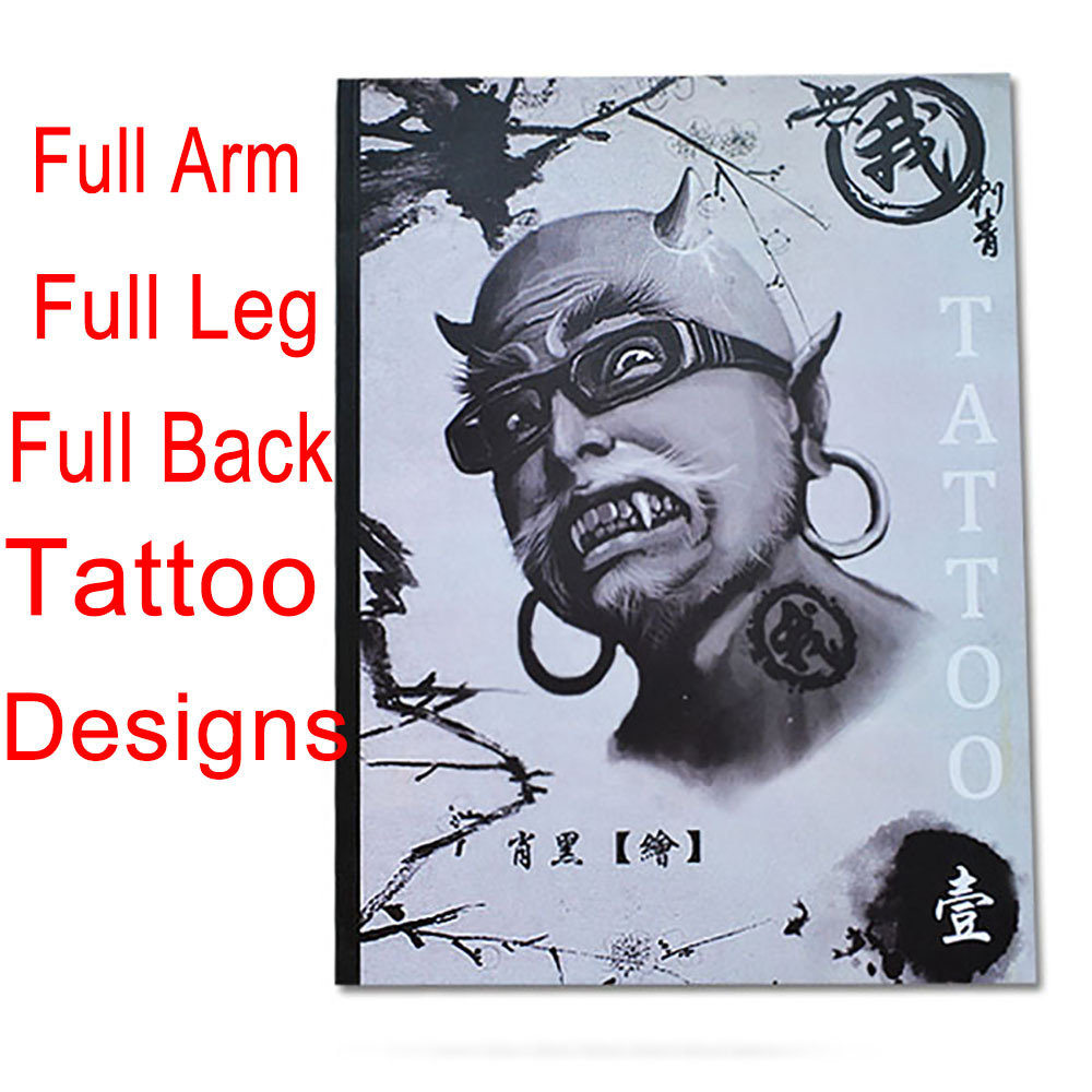 2015 new tattoo book skull koi hannya god dragon tattoo designs for arm leg back tattoo book. Black Bedroom Furniture Sets. Home Design Ideas