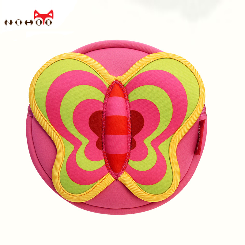 2016 Special Offer Hot Sale > 3 Years Old Spandex Children Fashion Butterfly Bag Waterproof Shoulder Schoolbags Kidsgarden Bags(China (Mainland))