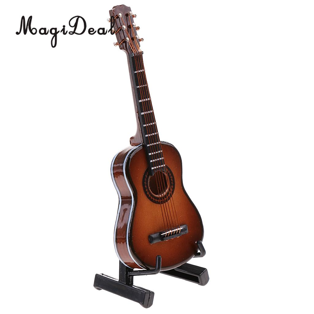 MagiDeal 1/6 Scale Handmade Classic Guitar Model Instrument for 12 Inch Action Figure Doll Toys Soldier Model DIY Accessories