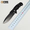 BMT Tactical 217 Folding Black Blade 57HRC Knife with 7Cr17 Aluminum Handle Hunting Knives Camping Pocket