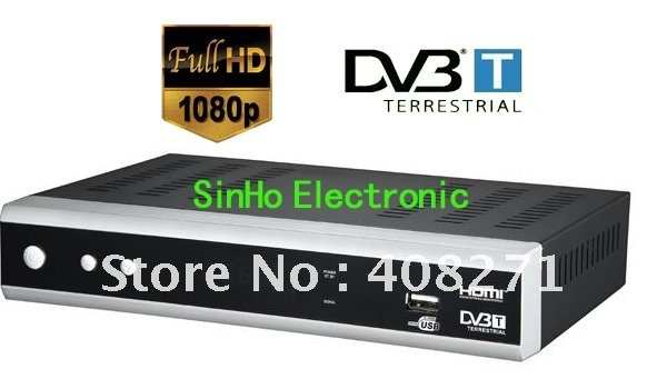 HDDVB9202 Support Full HD 1080P/H.264/Mpeg4 Terrestrial Receiver Tv Tuner Dvb-t Freeview Receiver Set Top Box HDTV(China (Mainland))