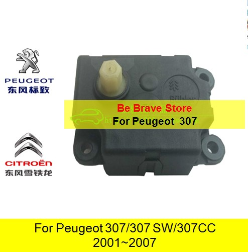 Peugeot 307 307SW 307CC 2002~2007 Year Automatic air conditioning Stepper motor Adjustment motor Control solenoid valve(China (Mainland))