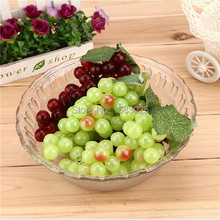Hot Sale 1PCS Bunch Lifelike Home Office Decoration Colorful Artificial Plastic Fruit Grapes Cluster Two Colors Official Party(China (Mainland))