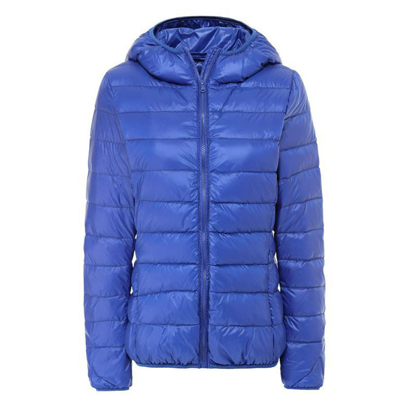 Ultra Light Duck Down Jacket Women Portable Outdoor Winter Coat Hooded Slim Thin Female Jackets chaquetas mujer 13 Colors