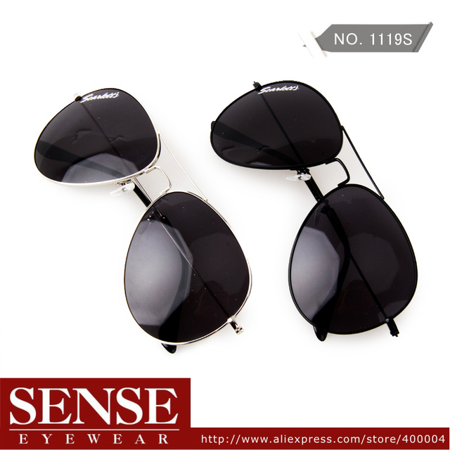 Free Shipping Sunglass Hot Sale Vintage Aviator Style Sunglasses Big Frame For Women Men