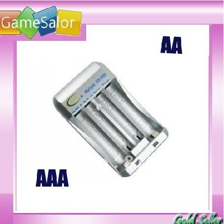 Free shipping Ni-MH / Ni-Cd AA AAA Rechargeable battery Charger(China (Mainland))
