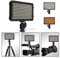 Digital Photography Flash with 176pcs LED lights Panel LED Flash Light Lamp with Filter For Canon