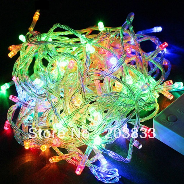 Multi-color 10M 100 LED Fairy String Christmas Xmas Party Deco Light 220V