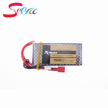 Buy 1pcs Xpower LiPo Battery 11.1V 1500Mah 3S 40C XT60/T Plug RC Car Airplane WLtoys V950 Helicopter Part 2017 for $11.47 in AliExpress store