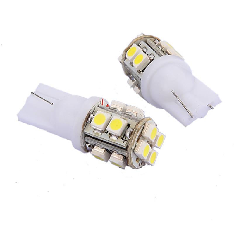 Brand New DC12V 1pcs/lot T10 194 168 W5W 3528 SMD 10led White LED Auto Car Lighting Wedge Side Lamp Bulb(China (Mainland))