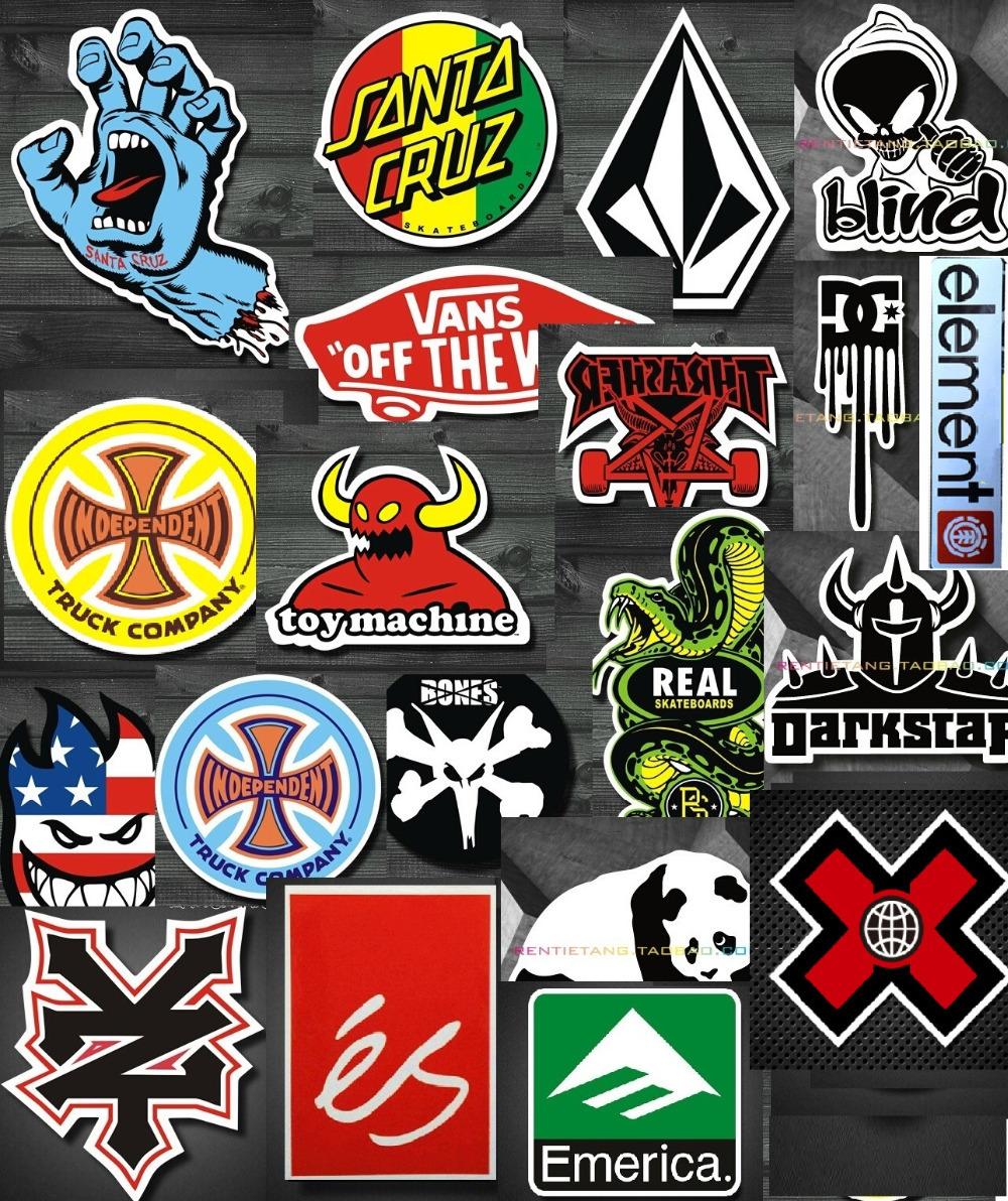 Wholesale Skateboard Stickers Skateboard Stickers Bones