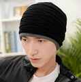 2016 new New Winter fashion casual warm hats hot hat for man the trend thick fleece