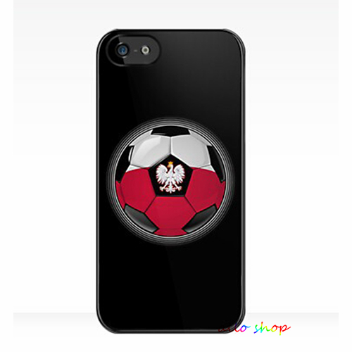 World Cup - Poland - Polish Flag Football or Soccer fashion original cell phone case cover for iphone 4 4S 5 5S 5C 6 6 plus #165(China (Mainland))