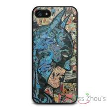 Retro Batman Comic Book Protector back skins mobile cellphone cases for iphone 4/4s 5/5s 5c SE 6/6s plus ipod touch 4/5/6