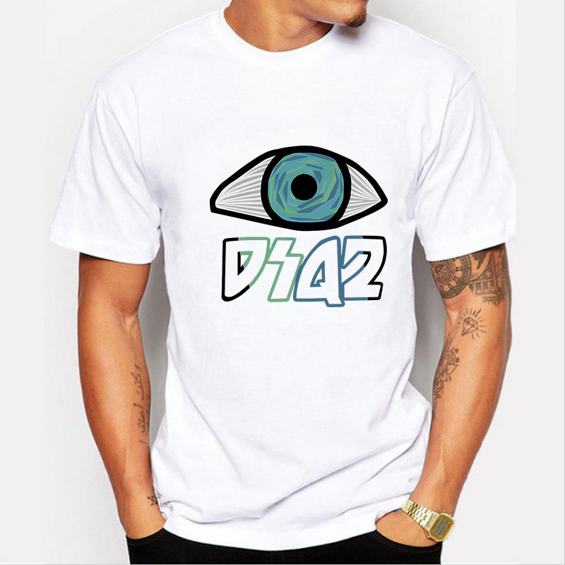 Summer Men t shirt Cotton Clothing Swag eyes Dsq print Camiseta Fitness T-Shirts tops Tees Skate tshirt plus size M-XXXXL - Represent Store store