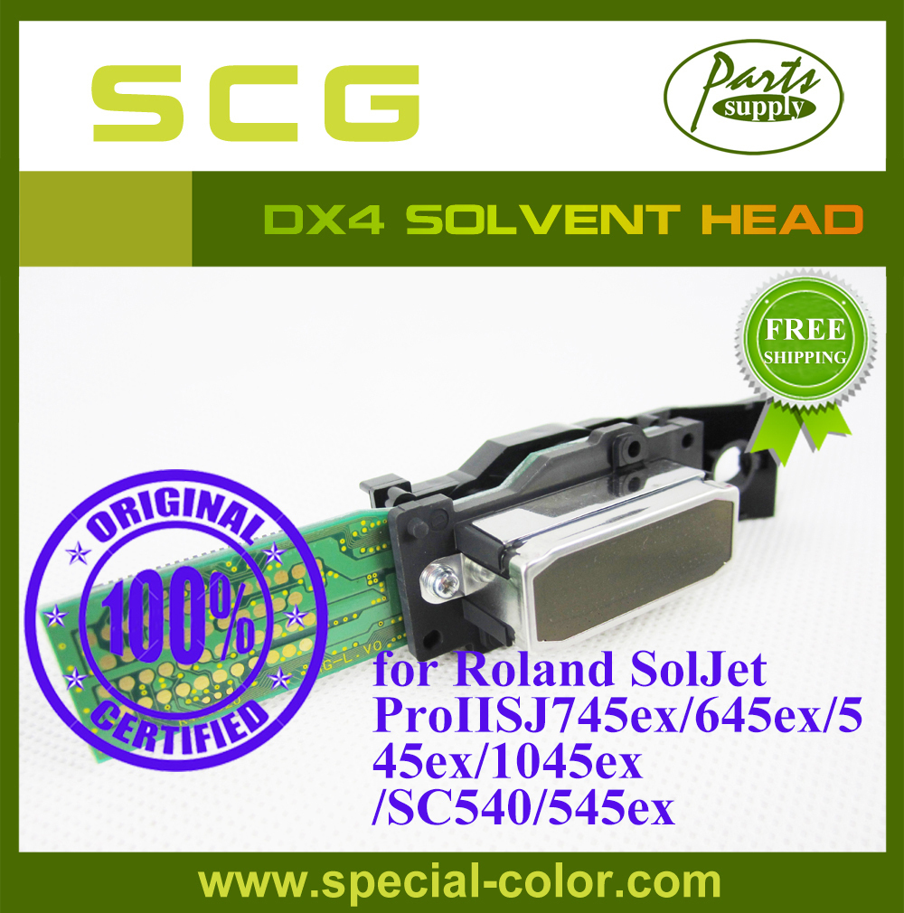 DX4 Solvent Printhead Roland SJ745ex/645ex/545ex/1045ex/SC540/545ex Print head Origin from Japan(China (Mainland))