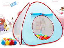 3000 детские манежи палатки 90 * 90 * 88 см детская игровая дом интерьер детские палатки игрушки 20 шары