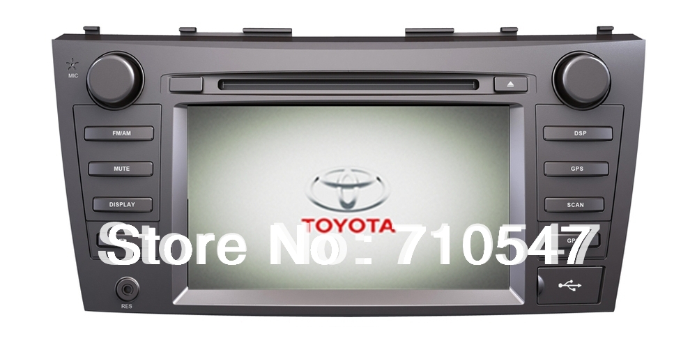 8 inch Toyota Camry Car Multimedia Kit DVD GPS with Ipod 3G USB SD Steering Wheel Control(China (Mainland))