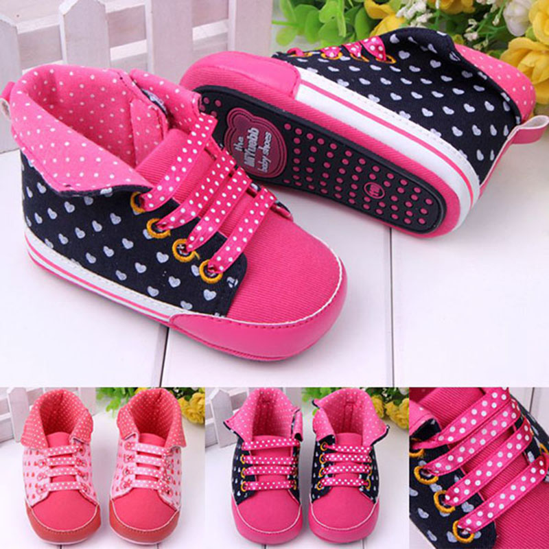 High Quality Baby girl shoes 2016 fashion pot sports shoes soft prewalkers casual baby shoes bebe Anti-skid bottom first walkers(China (Mainland))