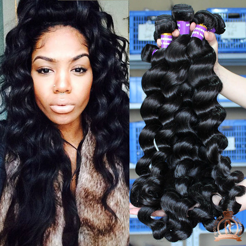 Images Loose Curly Human Hair Weave