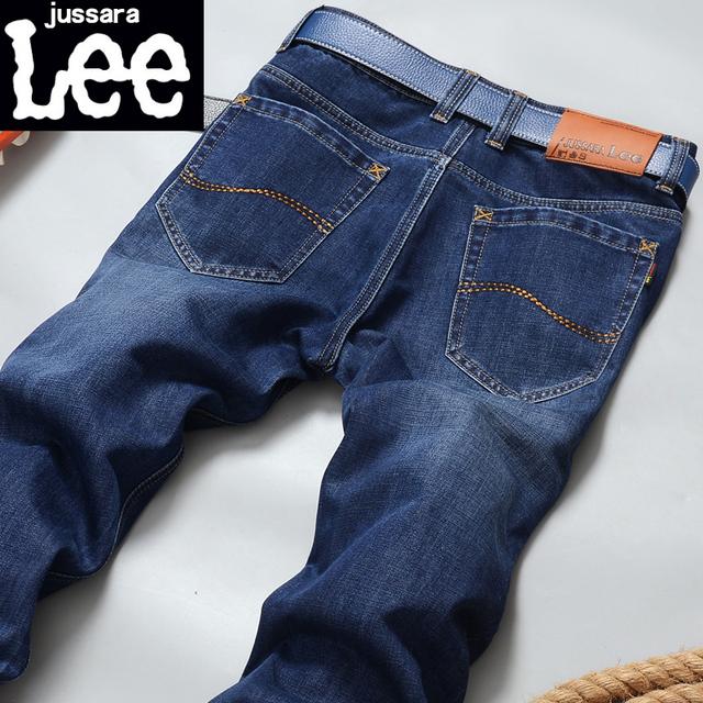 Новая Мода 2016 известный бренд мужчин джинсы Летом молодежные мужские джинсы брюки ...