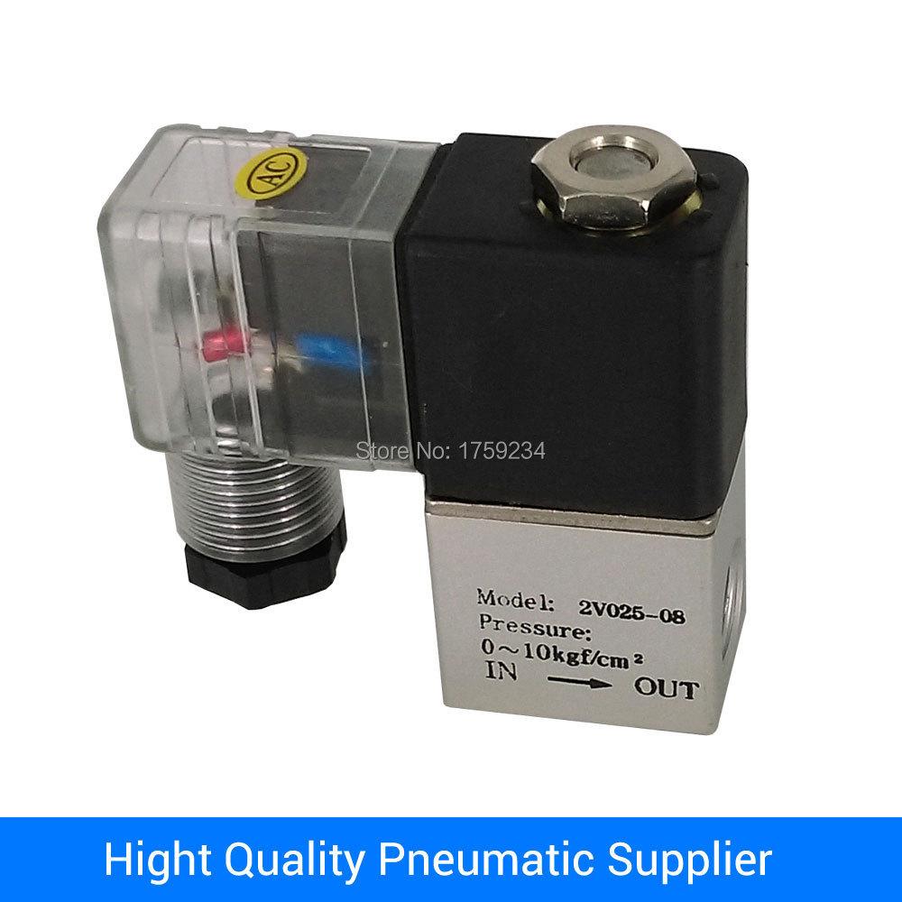 "V-2V025-08 1/4"" direct acting aluminum solenoid valve(China (Mainland))"