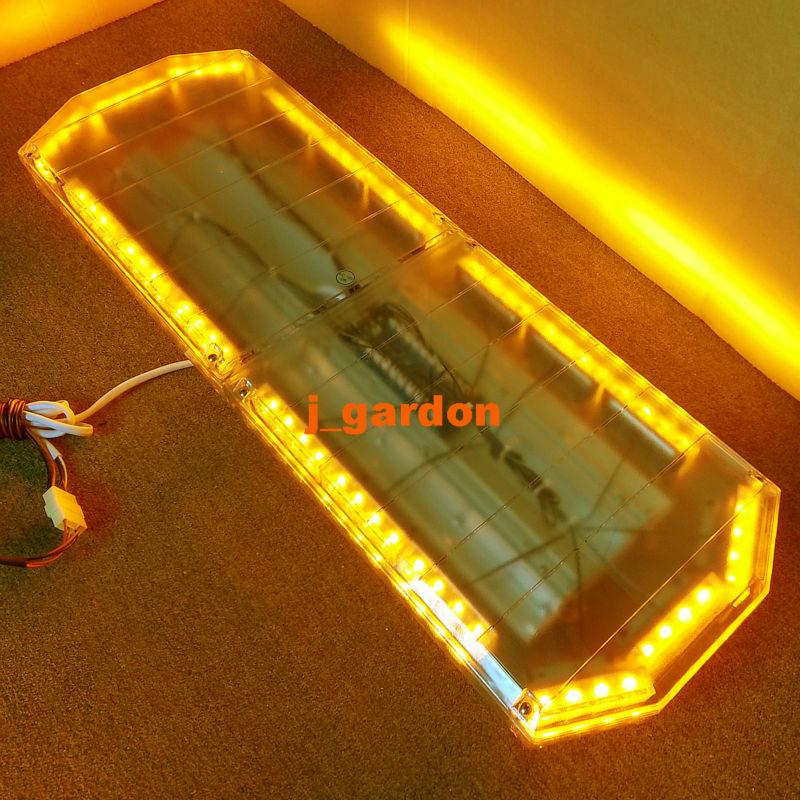 "12V -24V 35.5""72 LED Long Row Car Light Emergency Warning Light Wrecker Beacon Flashing Recovery LightBar Strobe LightBar Amber(China (Mainland))"