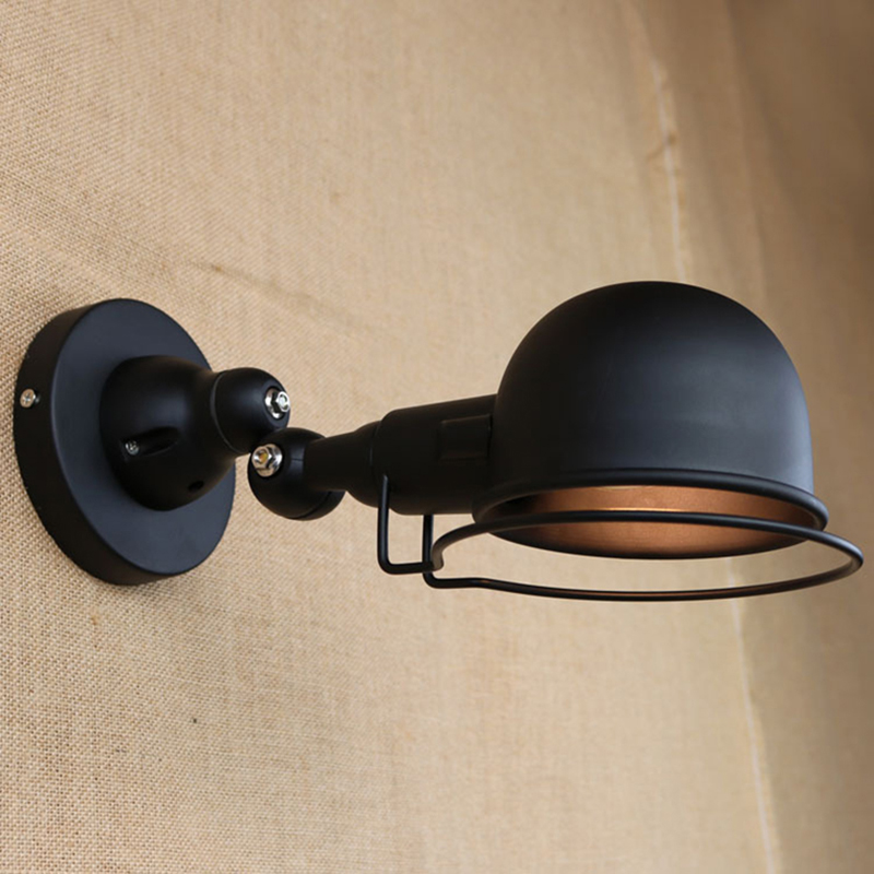 retro vintage industrial Wall lamps with bulb Mechanical Arm France Jielde Wall light Retractable wall sconce for cafe bar shop(China (Mainland))
