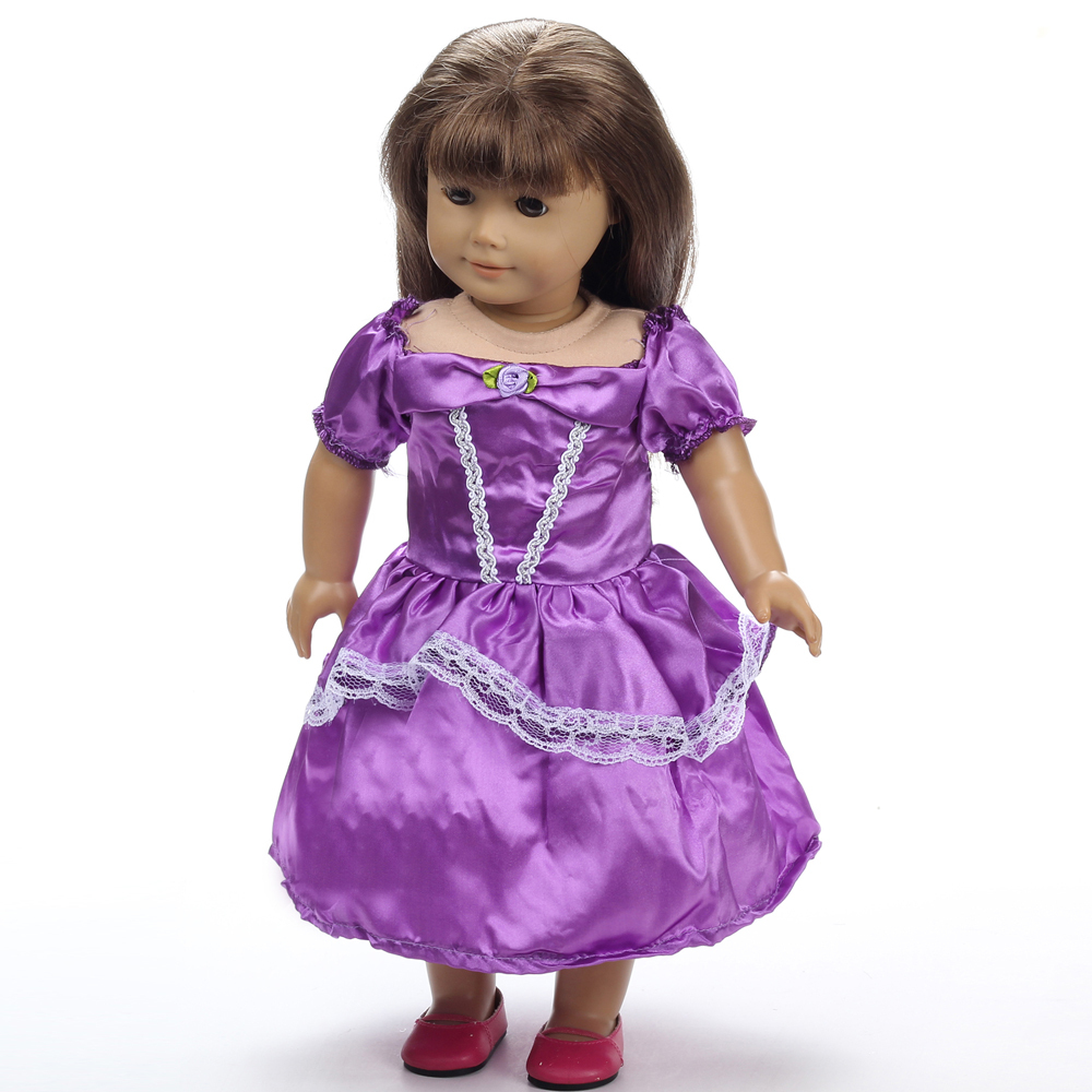 18 inch diy american girl doll accessories for christmas gift in dolls