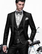 Wedding Tuxedo – Shiny Black
