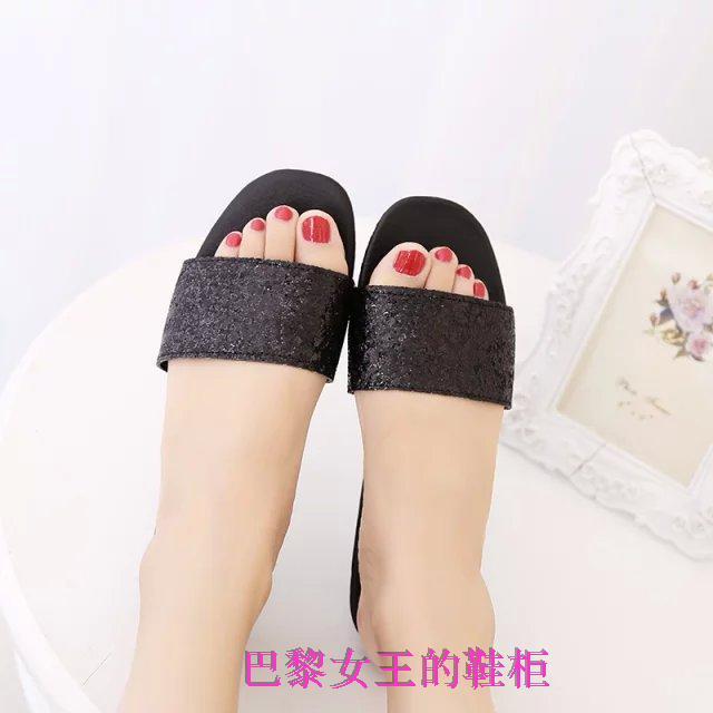 2016 Women's Sandals Summer Beach Flip Flops Lady Slippers Women Shoes Summer Sandals for Women Flat Heel Casual Free Shipping(China (Mainland))