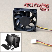 60x60x15mm 3 Pin 12V Case Computer Cooler Cooling Fan PC Black Free Shipping