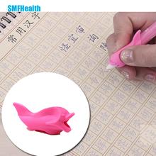 Студент написание поза корректирующих скобки, чтобы держать ручку устройства, дельфин рыба гель карандаш ручку держать устройство Цвет Случайно Z34801(China (Mainland))