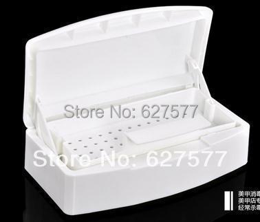 Nail Art Tools Sterilizing Tray Box Beauty Implement Clean Sterilizer Salon(China (Mainland))