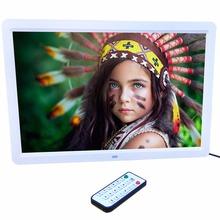 """В наличии! 15 """"LED HD с Высоким Разрешением Цифровая Фоторамка + Пульт дистанционного управления США Разъем Черный/Белый Цвет Новые(China (Mainland))"""