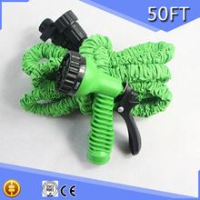 High Quality Flexible Hose Spray Gun, tuyau jardin Samorastyagivayuschiysya Hose, Garden Hose Holder 50FT Magic Garden Equipment(China (Mainland))