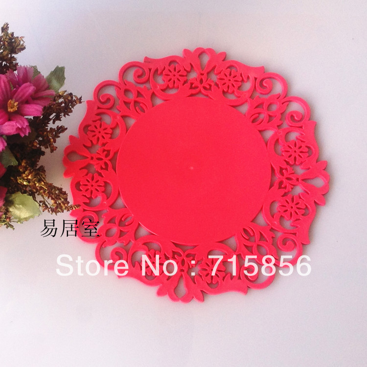 Red Round Placemats Promotion Shop For Promotional