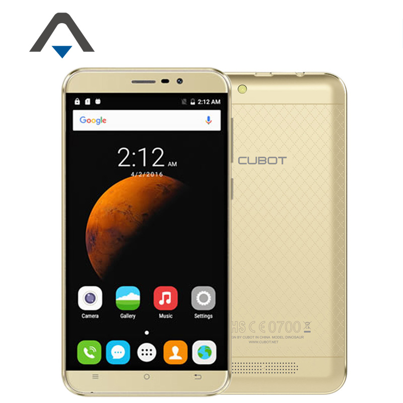 "Original Cubot Dinosaur LTE 4G Mobile Phone 5.5"" IPS Andriod 6.0 MT6735A Quad Core 8MP 3GB RAM 16GB ROM 4150mAh Free Gifts Pack(China (Mainland))"