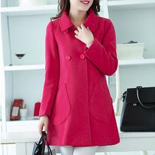 Long Wool Coat Women Jacket Winter Womens Jackets And Coats Manteau Femme 2015 Cappotto Donna Casaco Feminino Abrigos Mujer XXXL