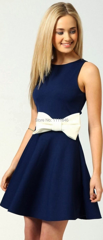 Navy Blue Dresses For Juniors – tart.tk